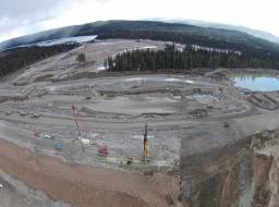 Dam reconstruction Apr 2015